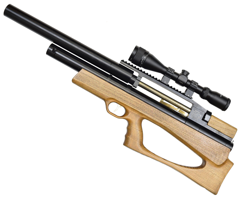 Пневматическая винтовка Дубрава Лесник Буллпап 7.62 мм V3 (550 мм, Бук)