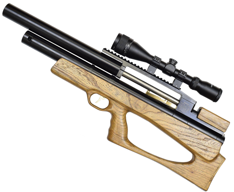 Пневматическая винтовка Дубрава Лесник Буллпап 6.35 мм V3 (450 мм, Бук)