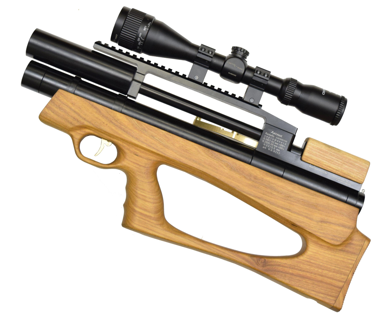 Пневматическая винтовка Дубрава Анчутка Буллпап 6.35 мм V3 (250 мм, Бук)