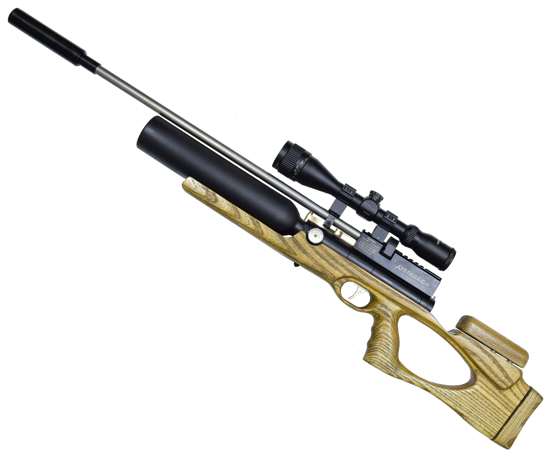 Пневматическая винтовка Дубрава Чекан Карабин Колба 5.5 мм V3 (580 мм, Бук)