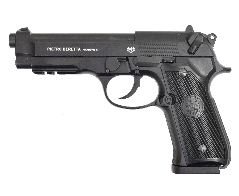 Пневматический пистолет Umarex Beretta M92 A1 (Черный, Blowback)