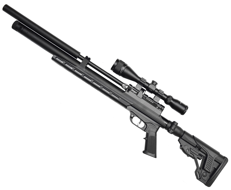 Пневматическая винтовка Jager SP Карабин (6.35 мм, 470 мм, металлическое ложе, складной приклад)