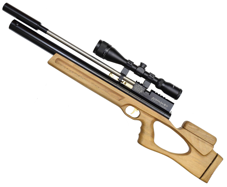 Пневматическая винтовка Дубрава Чекан Карабин 5.5 мм V3 (450 мм, Бук)