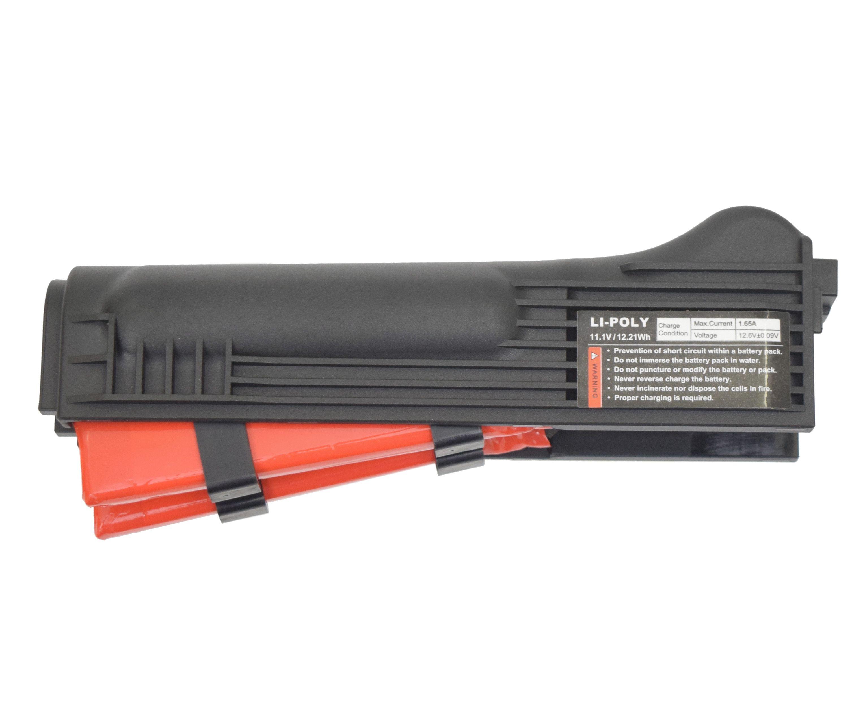 Аккумулятор G&G Li-Po 1100 mAh 11.1V для АК-серии (пластиковое цевье)