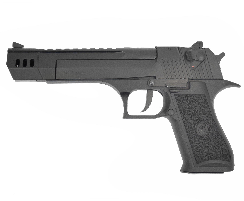 Охолощенный пистолет Курс-С Desert Eagle (250 мм, удлиненный ствол, Дезерт Игл, 10ТК)