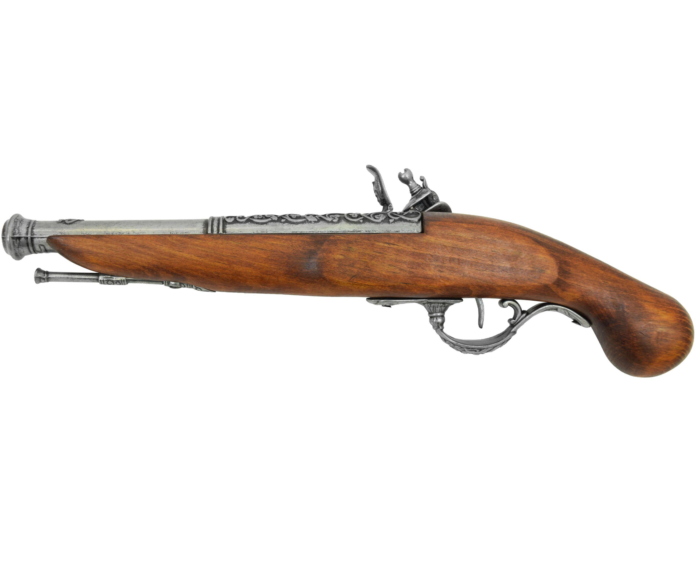 Макет кремневого пистолета Denix 1196G (18 век, Англия)