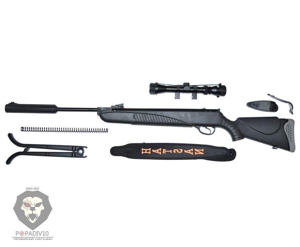 Пневматическая винтовка Hatsan 85 Sniper (с прицелом 3-9х32)