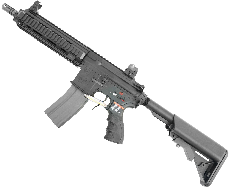 Страйкбольный автомат G&G T4-18 Black (6.0 мм, TGR-418-SHT-BBB-NCM)