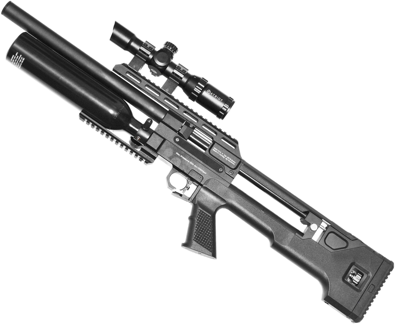 Винтовка пневматическая Kral Throne Bullpup (5.5 мм, 580 мм, пластик)