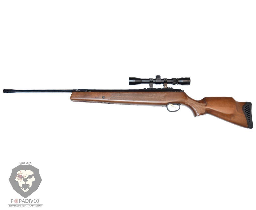 Пневматическая винтовка Hatsan 135 SP с прицелом 3-9x32