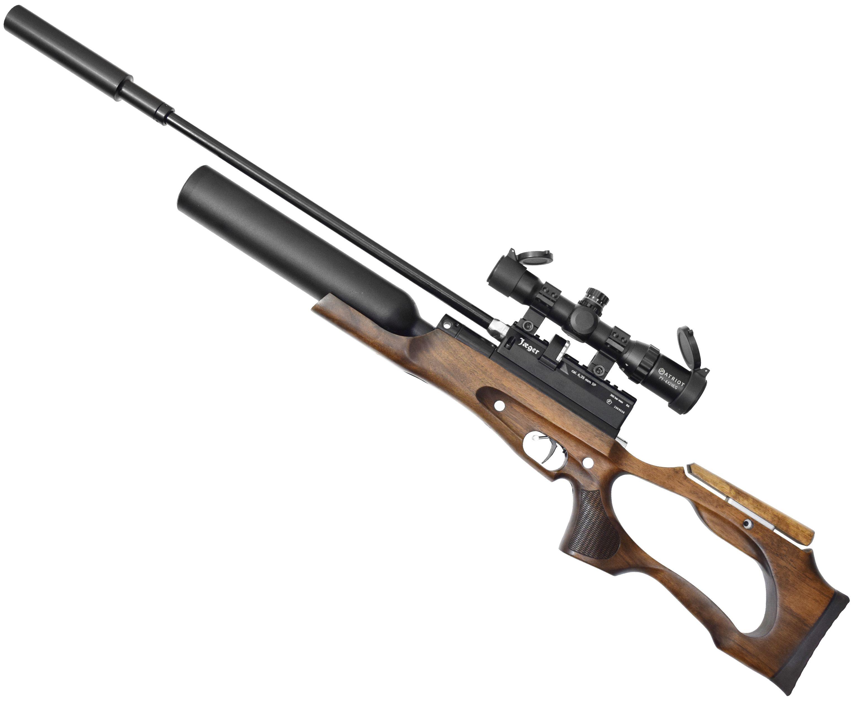 Пневматическая винтовка Jager SP Карабин колба (Ствол Alpha Precision, 550 мм, 6.35 мм, дерево)