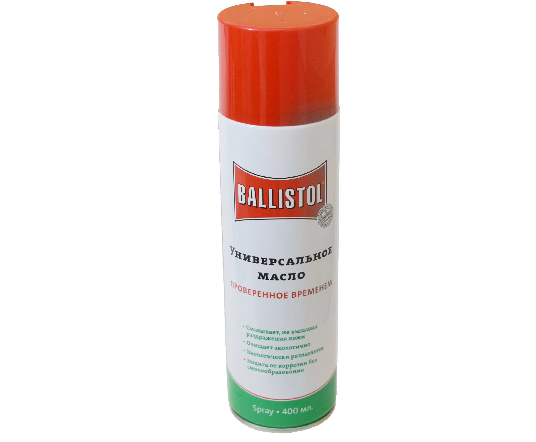 Масло оружейное Ballistol Spray (400 мл)