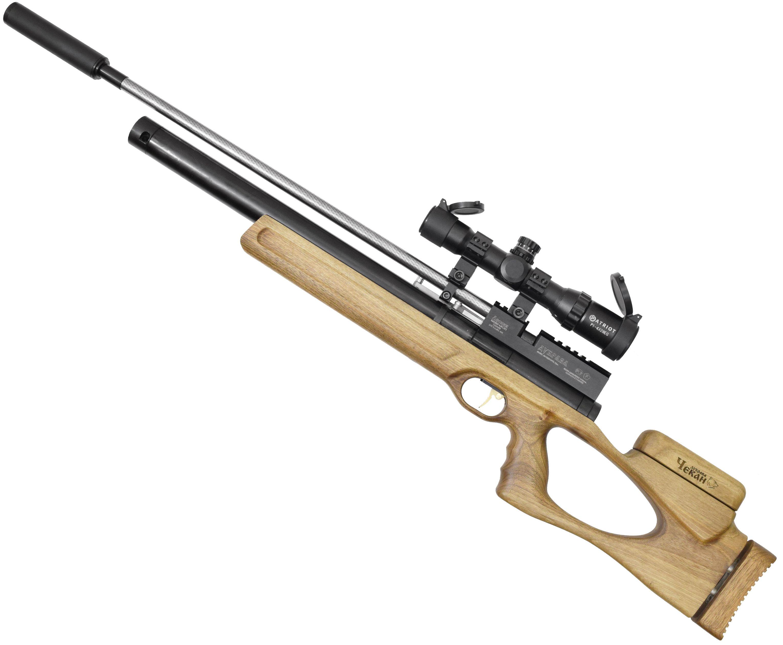 Пневматическая винтовка Дубрава Чекан Карабин 6.35 мм V4 (580 мм, Орех)