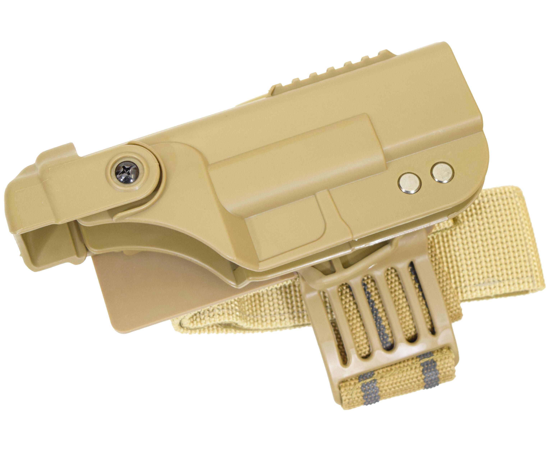 Кобура пластиковая для пистолета Glock (AS-HL0013T)