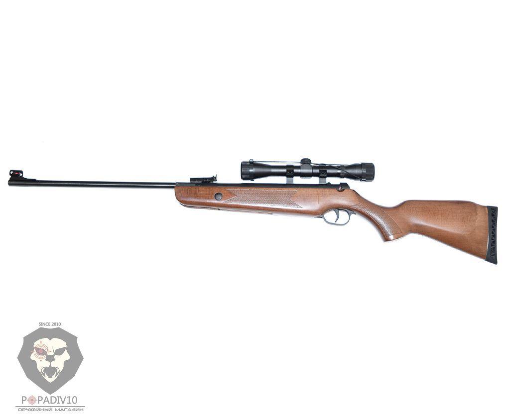 Пневматическая винтовка Umarex Hammerli Hunter Force 600 Combo (оптический прицел 4x32)