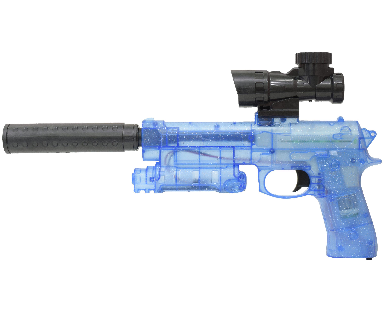Гелевый пистолет Angry Ball M92 Blue