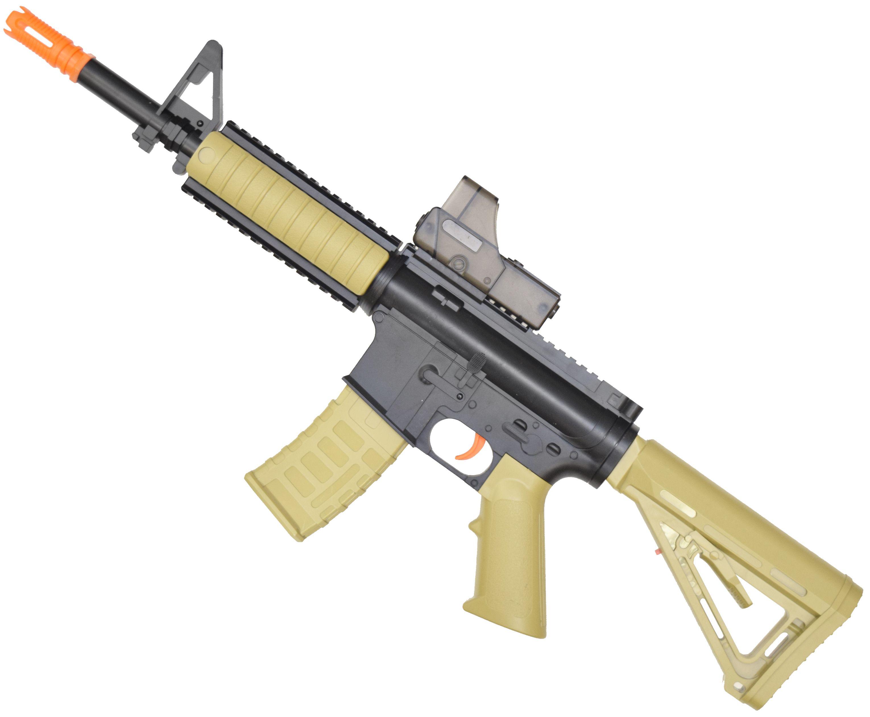 Гелевый автомат Angry Ball M4A1