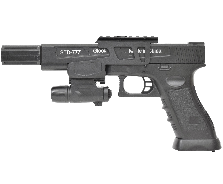 Гелевый пистолет Angry Ball Glock