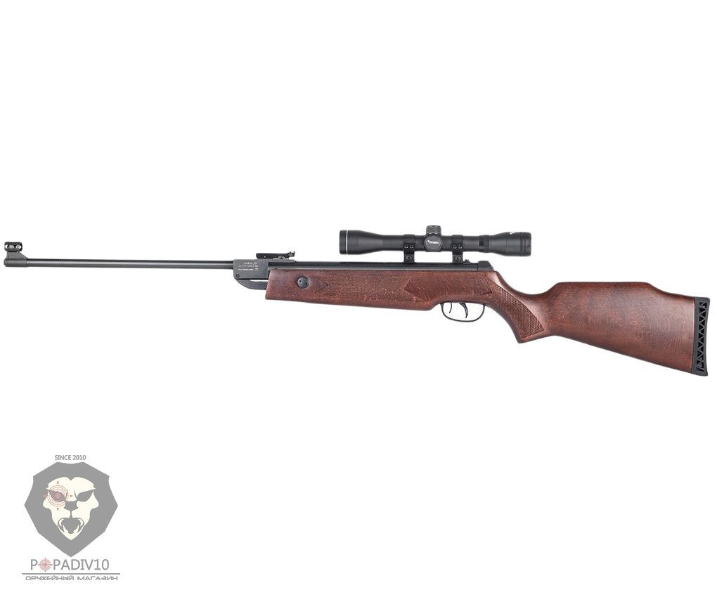 Пневматическая винтовка Umarex Hammerli Hunter Force 750 Combo (оптический прицел 4x32)