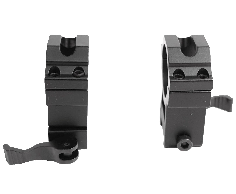 Кольца Patriot BH-RS46 (Быстросъемные, Weaver, Сталь)