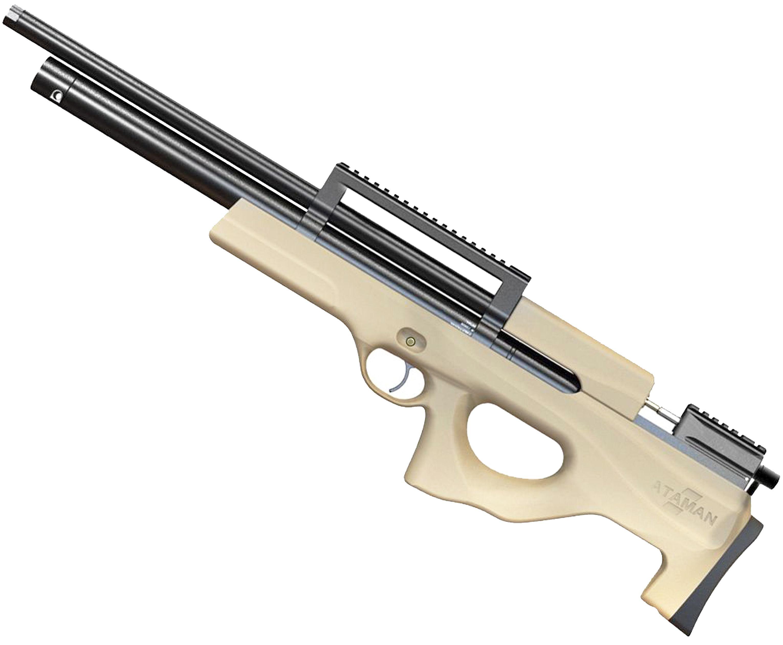 Пневматическая винтовка Ataman M2 446 Bullpup Type 1 RB-SL (6.35 мм, Песочный)