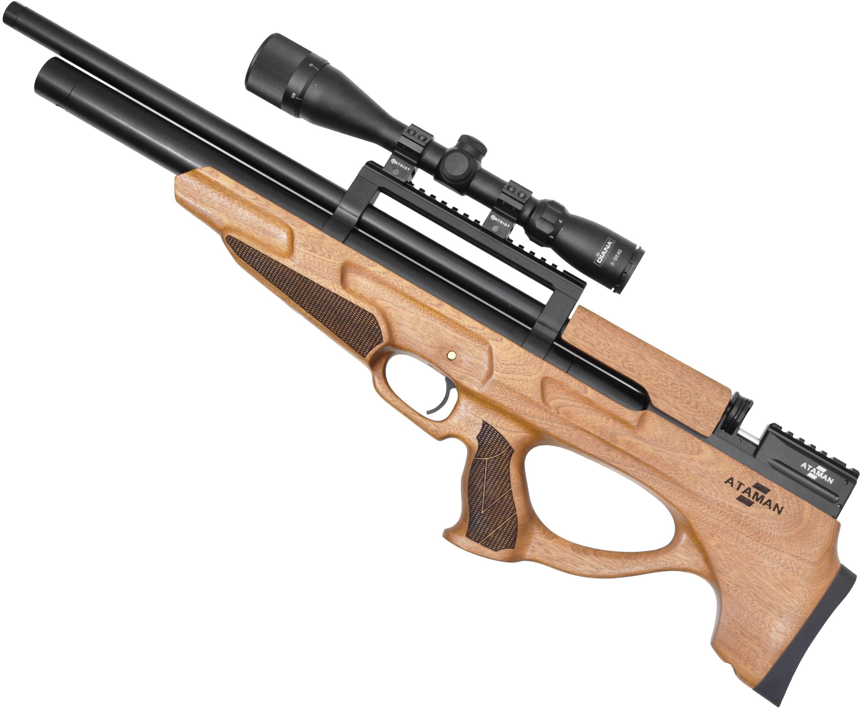 Пневматическая винтовка Ataman M2 865 Bullpup Type 2 RB-SL (5.5 мм, Сапеле)