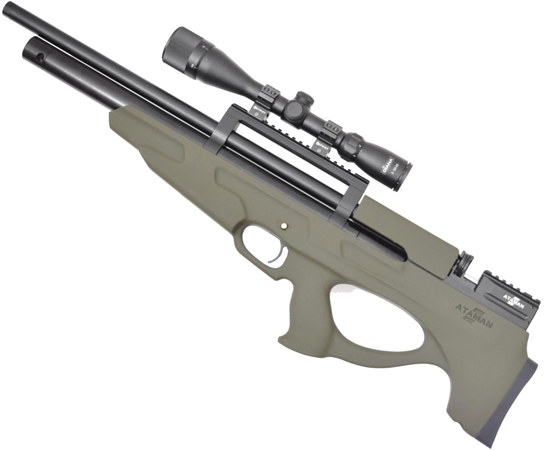 Пневматическая винтовка Ataman M2 835 Bullpup Type 2 RB-SL (5.5 мм, Олива)