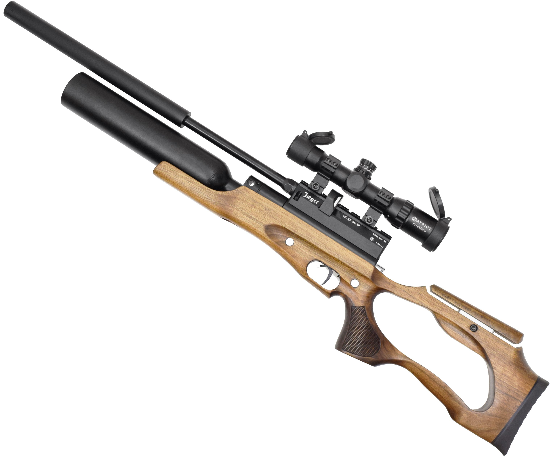 Пневматическая винтовка Jager SP 155S Карабин Колба (5.5 мм, 450 мм, AP)