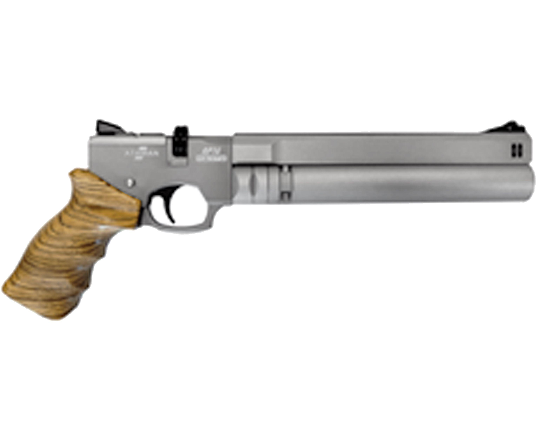 Пневматический пистолет Ataman AP16 421 Z/T Standart (4.5 мм, Zebrano)