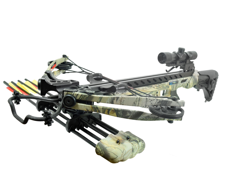 Арбалет блочный MK XB56 GODC KIT Frost Wolf (Прицел, воск)