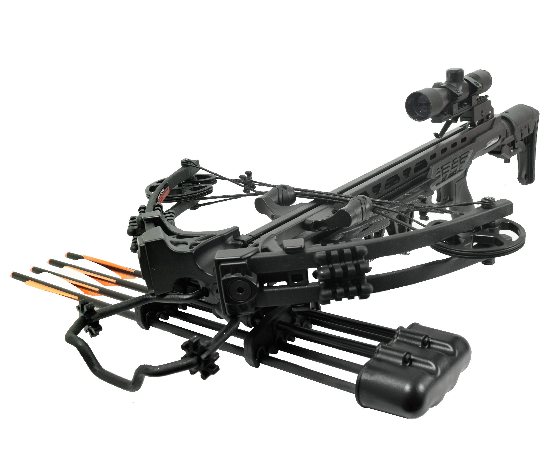 Арбалет блочный MK-XB58-BK-KIT Kraken (Прицел, черный)