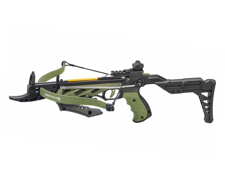 Арбалет-пистолет ManKung Alligator TCS2 (зеленый)