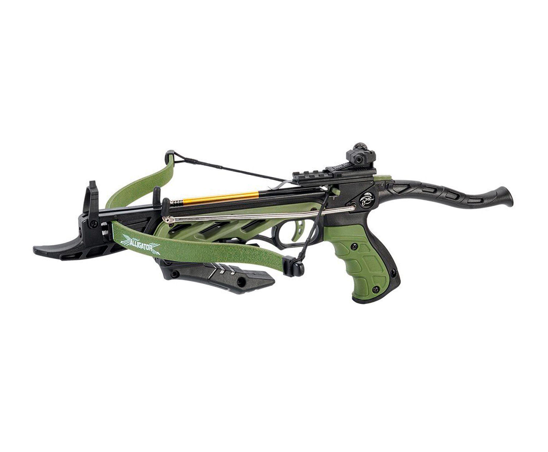 Арбалет-пистолет ManKung Alligator TCS1 (зеленый)