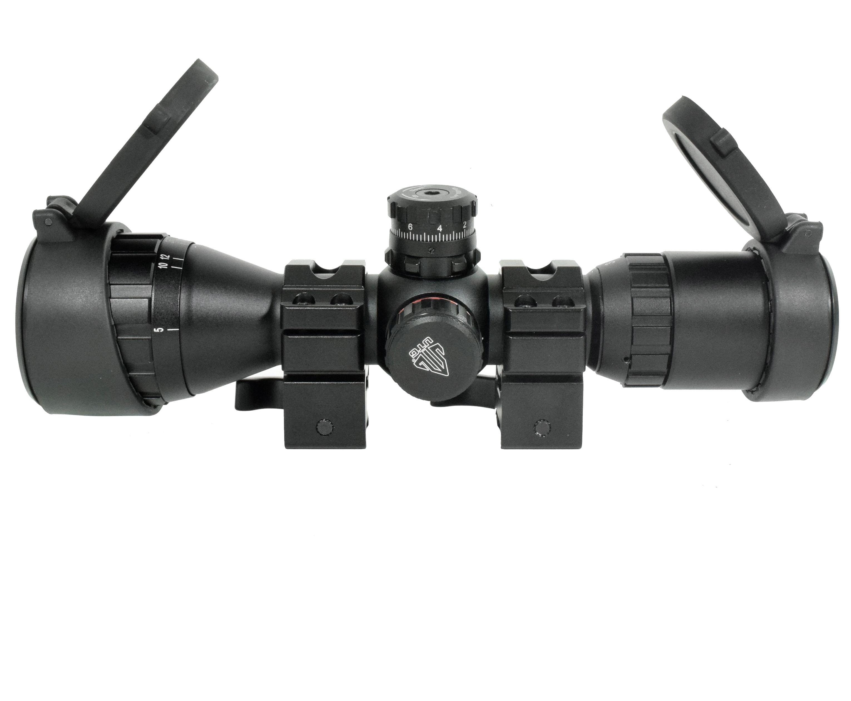 Оптический прицел Leapers Bug Buster 3-9x32 (Weaver, оригинал, MD, 25.4 мм, подсветка)