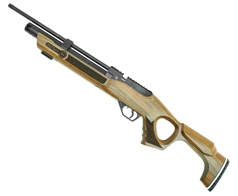 Пневматическая PCP винтовка Hatsan Flash W (6.35 мм, дерево)