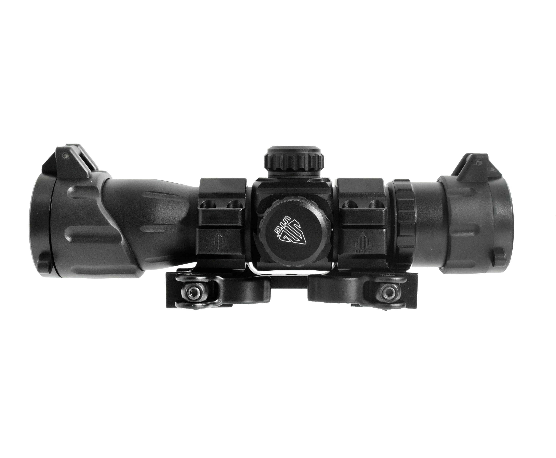 Коллиматорный прицел Leapers 5th Gen 1х30 оригинал (Weaver, подсветка, 4MOA)