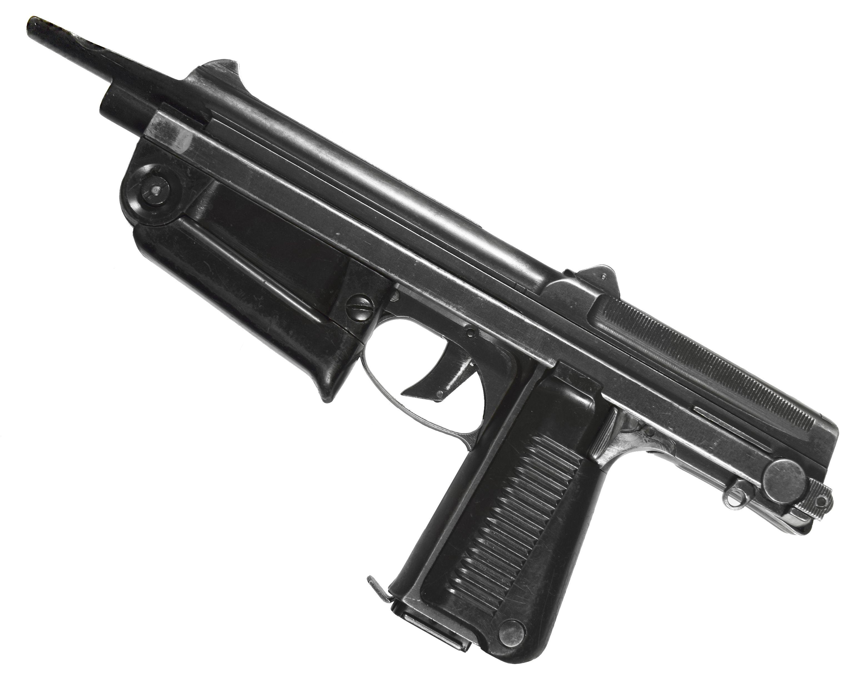 Охолощенный пистолет-пулемет PM 63-O