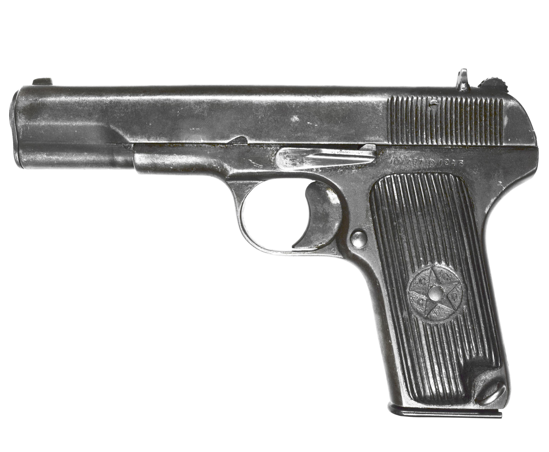 Охолощенный списанный пистолет ТТ-33-О 1 кат. (7.62х25, послевоенный)