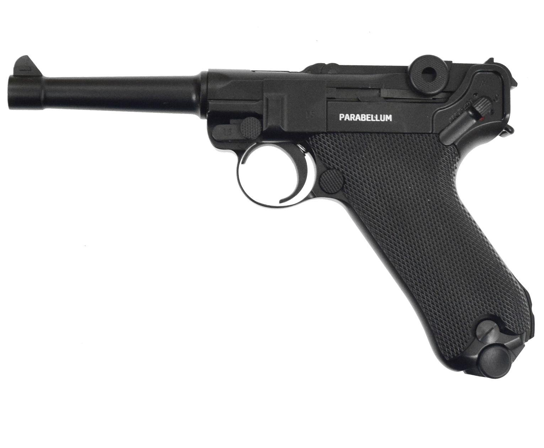 Пневматический пистолет Gletcher Parabellum (Luger)