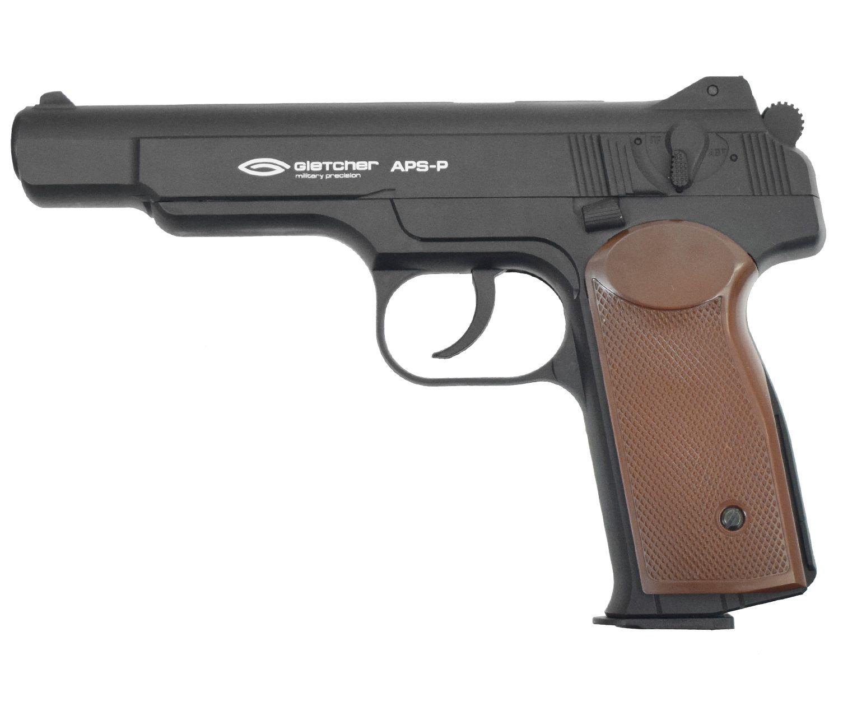 Пневматический пистолет Gletcher APS-P (Стечкин)