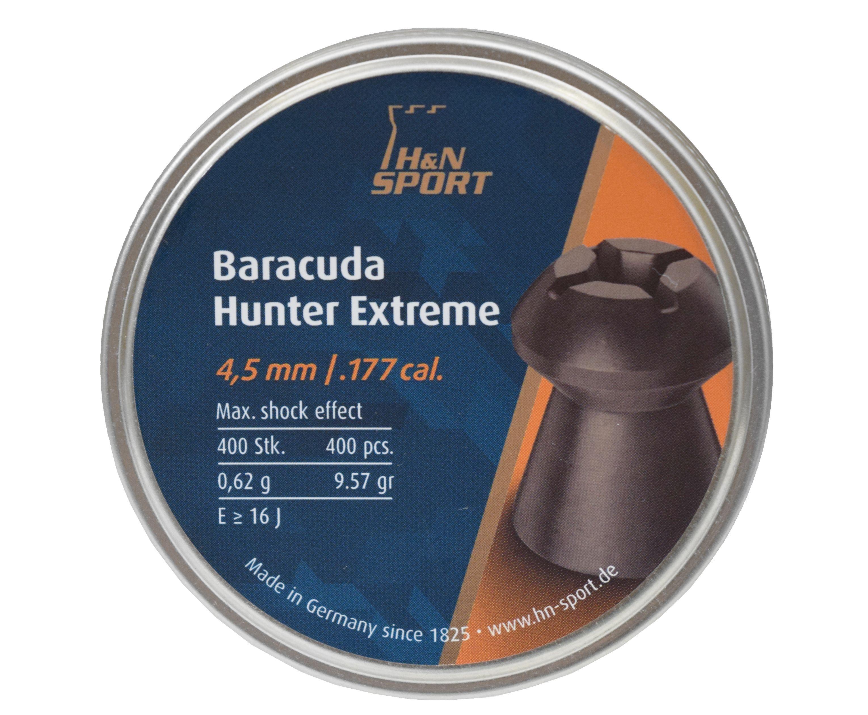 Пули пневматические H&N Baracuda Hunter Extreme 4.5 мм (400 шт, 0.62 г)