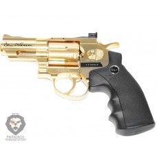 Пневматический револьвер ASG Dan Wesson 2.5 Gold