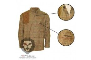 Рубашка Remington. р. M-XL (коричневая), шт