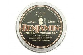 Пули для пневматики Benjamin Discovery Domed 6.35 мм (200 шт, 1.8 г)