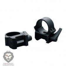 Кольца Weaver быстросъемные 25,4 мм, средние, матовые, шт