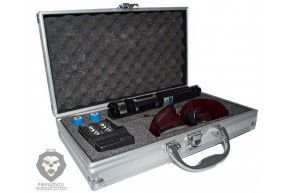 Прожигающий лазер BX-5 Max в кейсе (Синий цвет)
