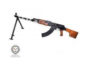 Охолощенный ручной пулемет Калашникова ВПО 926 ПС РПК СХП (Приклад Складной)