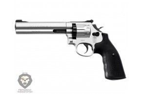 Пневматический револьвер Umarex S&W 686-6 никель