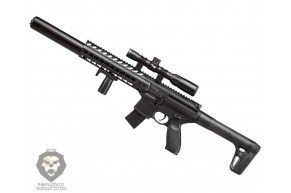 Пневматическая винтовка Sig Sauer MCX Scoped BLK-S