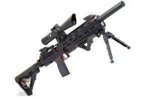 Пневматическая винтовка Кампо Урал ППК-17-3 (5.5 мм, PCP)